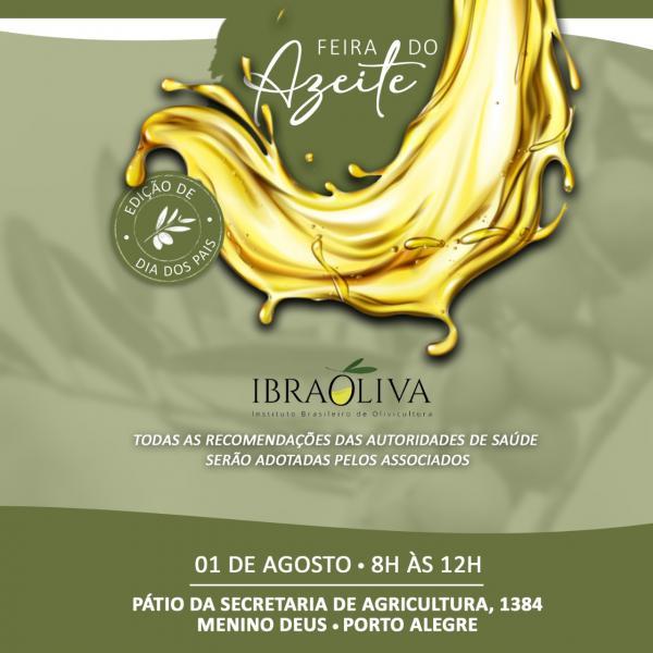 Neste sábado tem Feira do Azeite em Porto Alegre