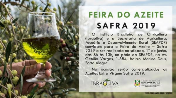 Feira do Azeite Safra 2019