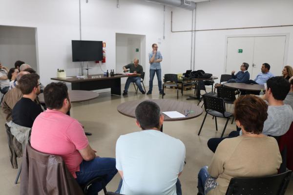 Ibraoliva visita Laboratório de Análise Sensorial do Mapa em Porto Alegre