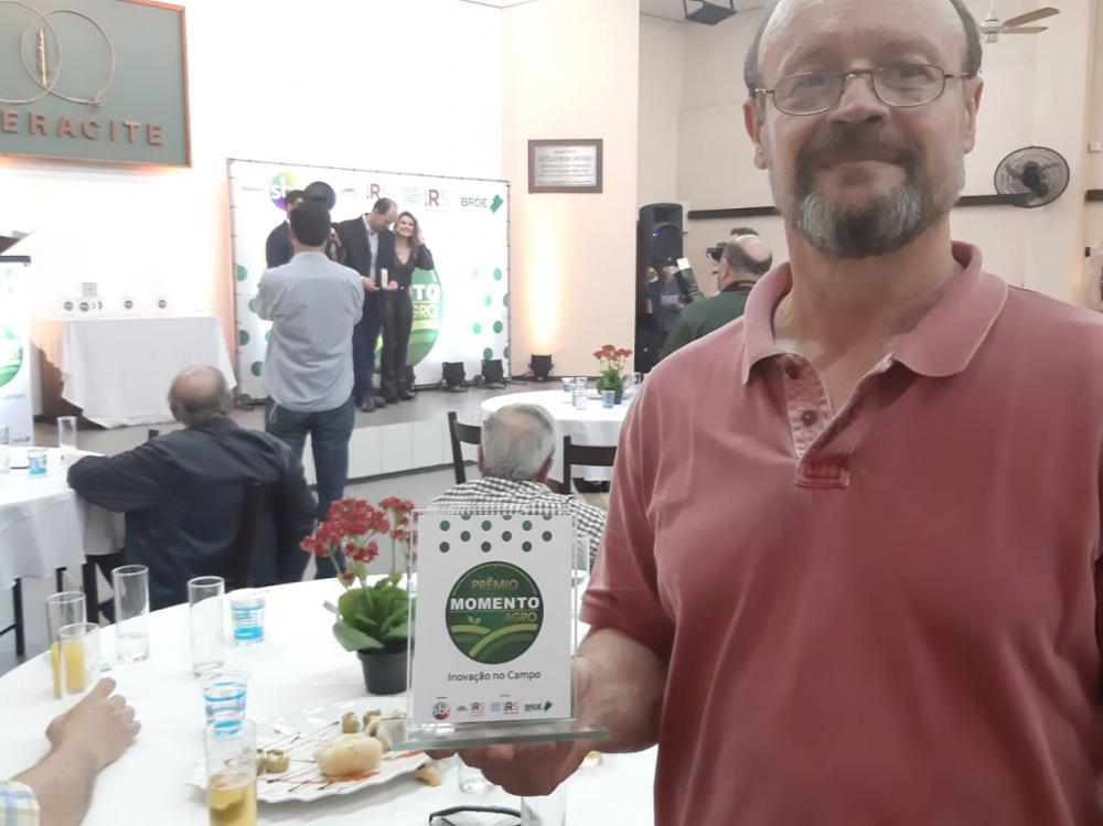 Ibraoliva recebe Prêmio Momento Agro Inovação no Campo