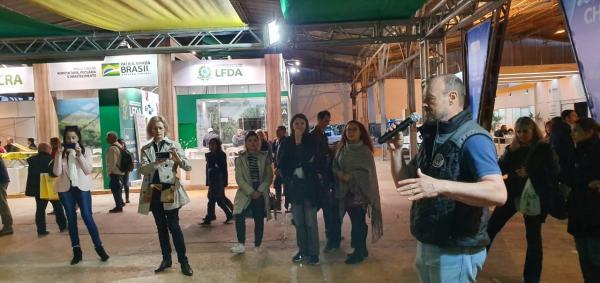 Encerramento estande Ibraoliva na Expointer 2019