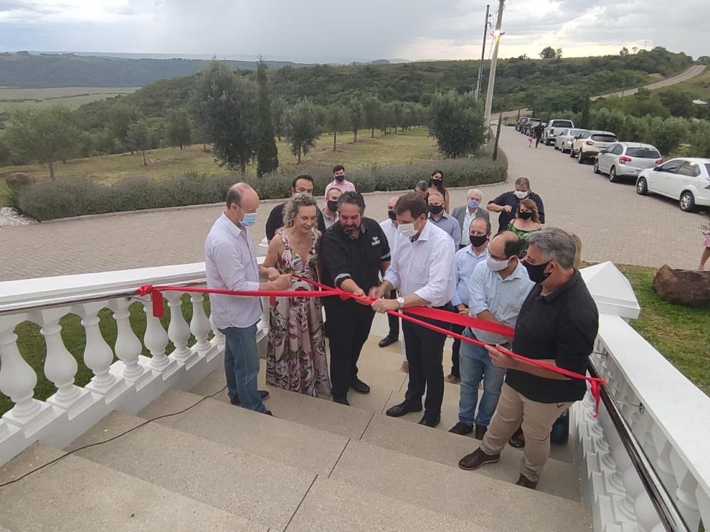 Inaugurado o primeiro empreendimento hoteleiro da Rota das Oliveiras