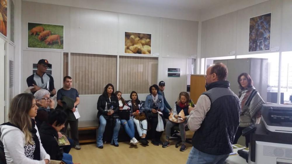 Alunos do Curso Técnico em Nutrição e Dietética visitam o Ibraoliva