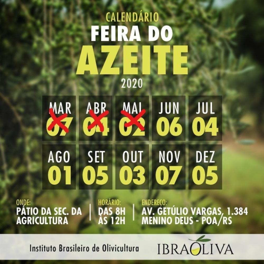 Retomada da Feira do Azeite em Porto Alegre deve acontecer a partir de junho